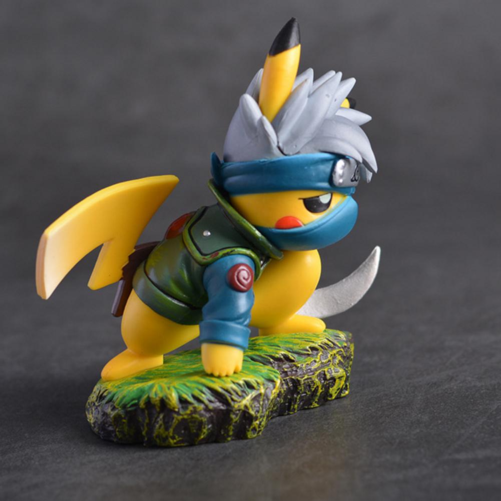 Figurine Pikachu X Kakashi Exclusif Pokemon Vs Naruto