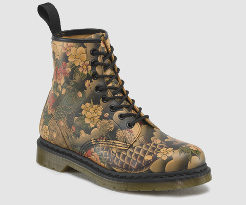 85e547cefdd Dock Martens dragon et chinoiserie Plus