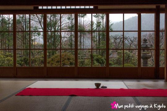 Le temple Jikkô-in dans le quartier de Ohara  #Kyoto #Jikkoin #Ohara #Japan #Japon