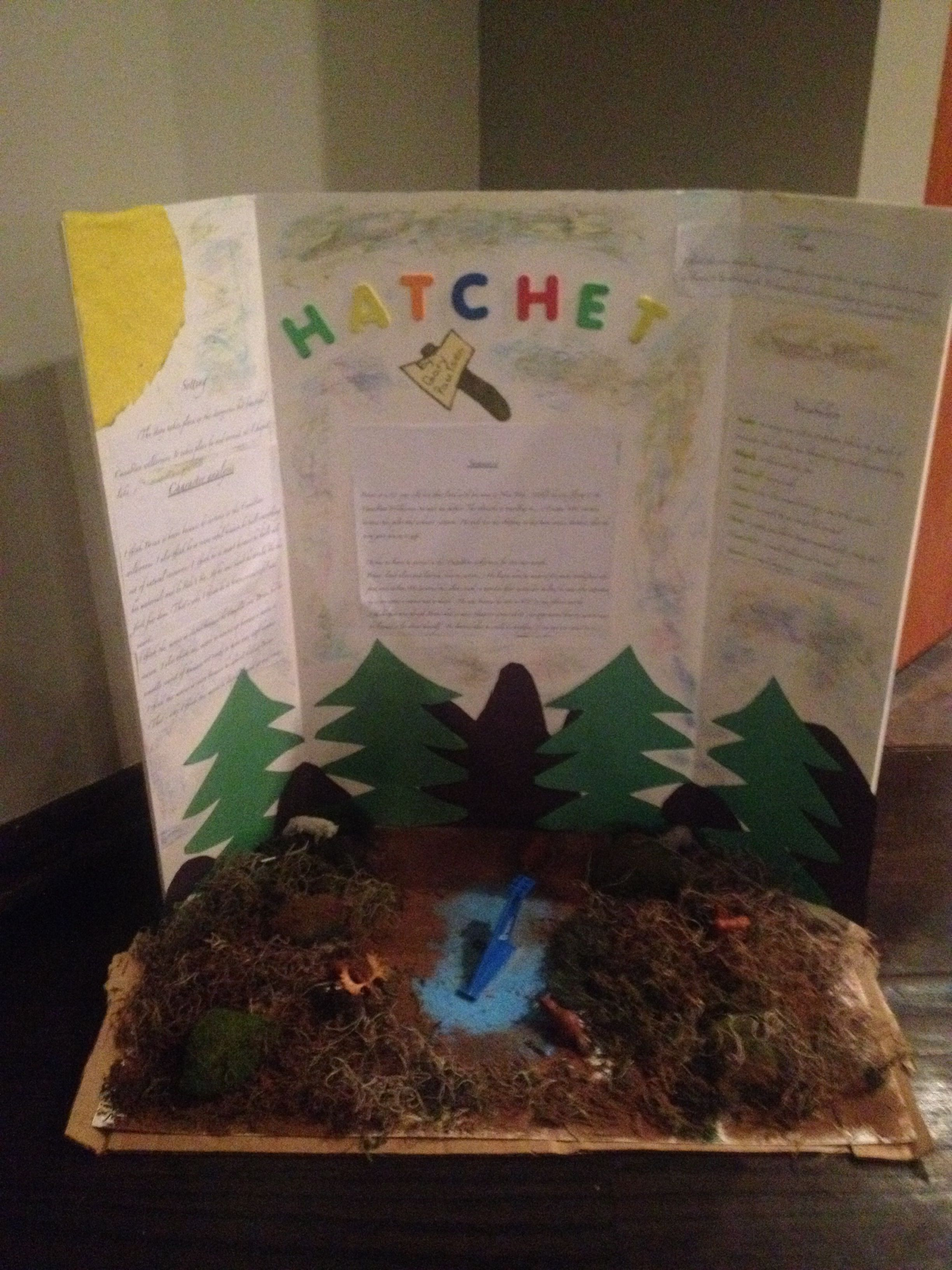 hatchet book report essay Suggested essay topics and study questions for gary paulsen's hatchet perfect for students who have to write hatchet essays.