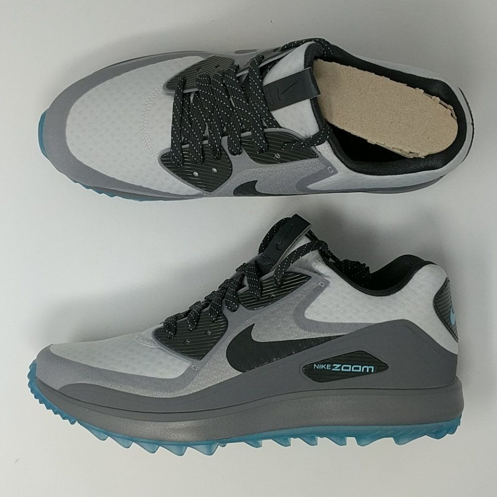 1146671d6894 Nike Air Zoom 90 IT Golf Shoes Cleats Platinum Anthracite 844569-004 ...