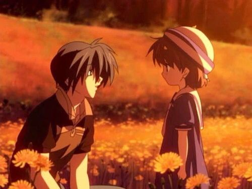 Tomoya And Ushio Clannad Clannad Anime Anime Family