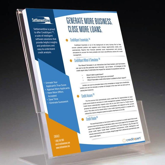 Design A One Page Sales Sheet By Copilul Business Card Design Flyer And Poster Design Marketing Design
