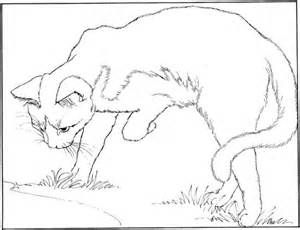 19 Gallery Images For Realistic Warrior Cat Coloring Pages Almastba Com 1390994378 514