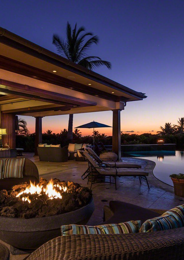 Luxury Dream Home Design At Hualalai By Ownby Design: Now, Where Did We Put The Marshmallows? At Hualalai Estate, Big Island, Hawaii.