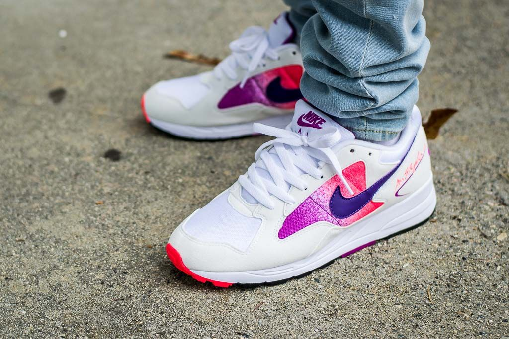 5852a83ca9e6f See how the Nike Air Skylon II Solar Red looks on feet in this video review  before you cop! Find out where to buy these Puma Suedes online!
