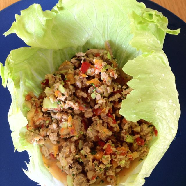 Turkey mince in lettuce cups | Healthy recipes, Health ...