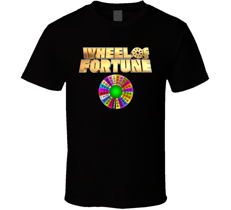 Wheel Of Fortune TV Game Show Classic T Shirt Hipster