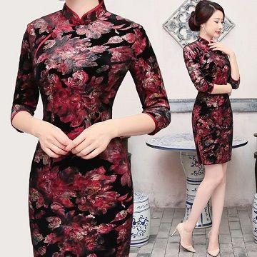 lindos zapatos auténtico famosa marca de diseñador Diseños elegantes de vestidos chinos de fiesta | Vestidos ...
