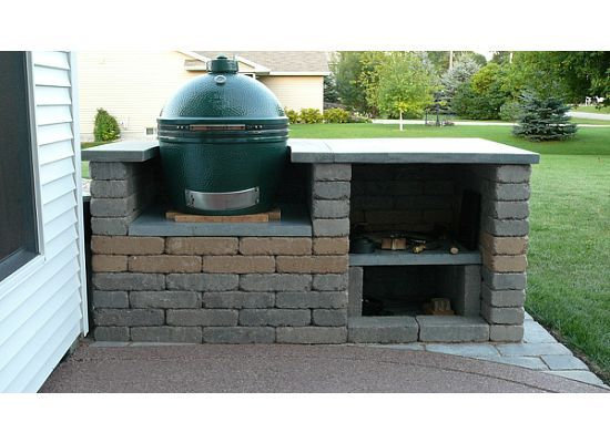 Barbeque bible stone table