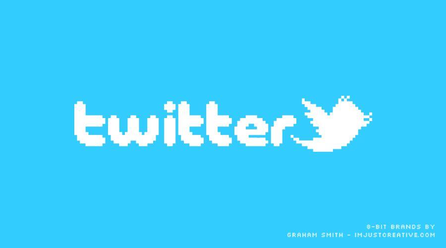 logo twitter pixel