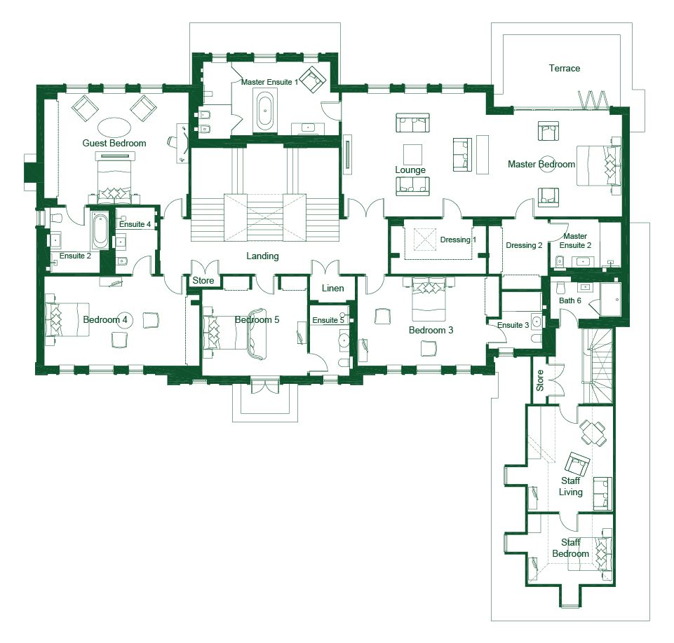 an octagon 5 6 bed home st george s hill estate weybridge set an octagon 5 6 bed home st george s hill estate weybridge