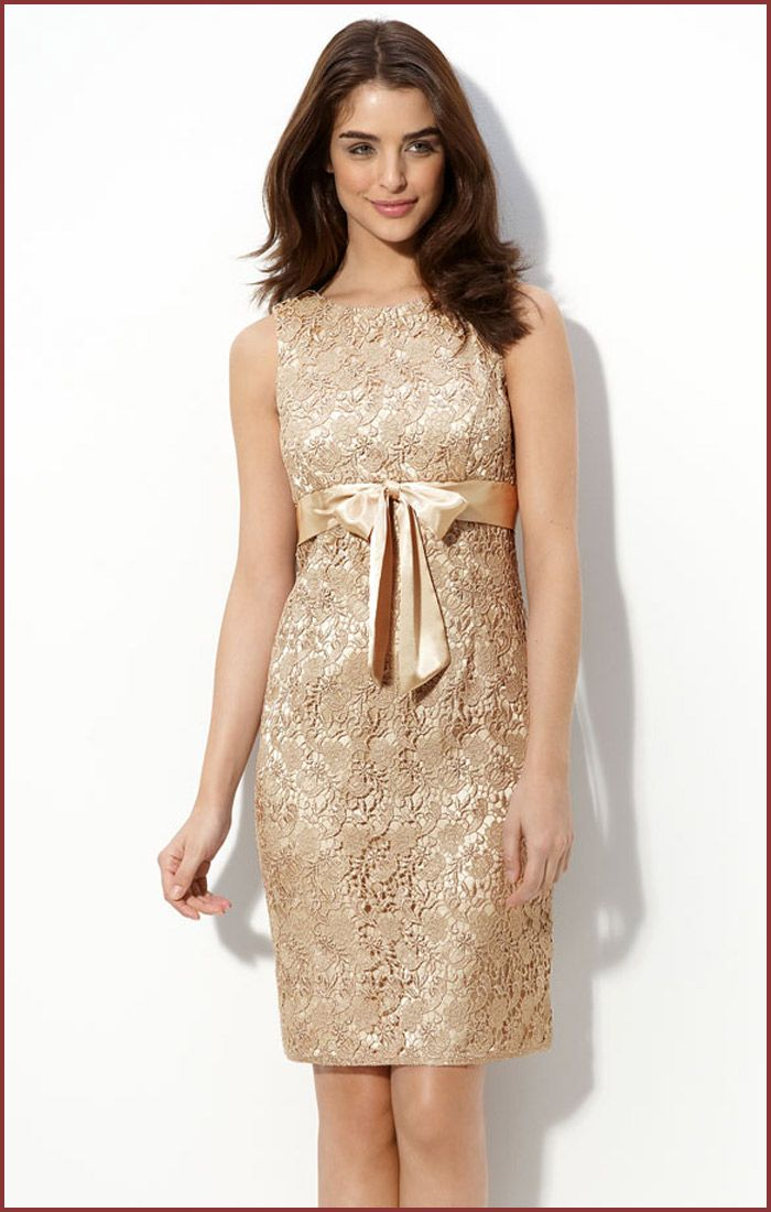 lace champagne dress
