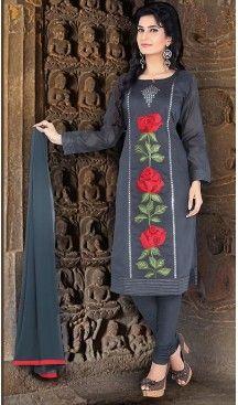 Pakistani stitched Salwar Kameez  Indian Designer Suit readymade straight Dress