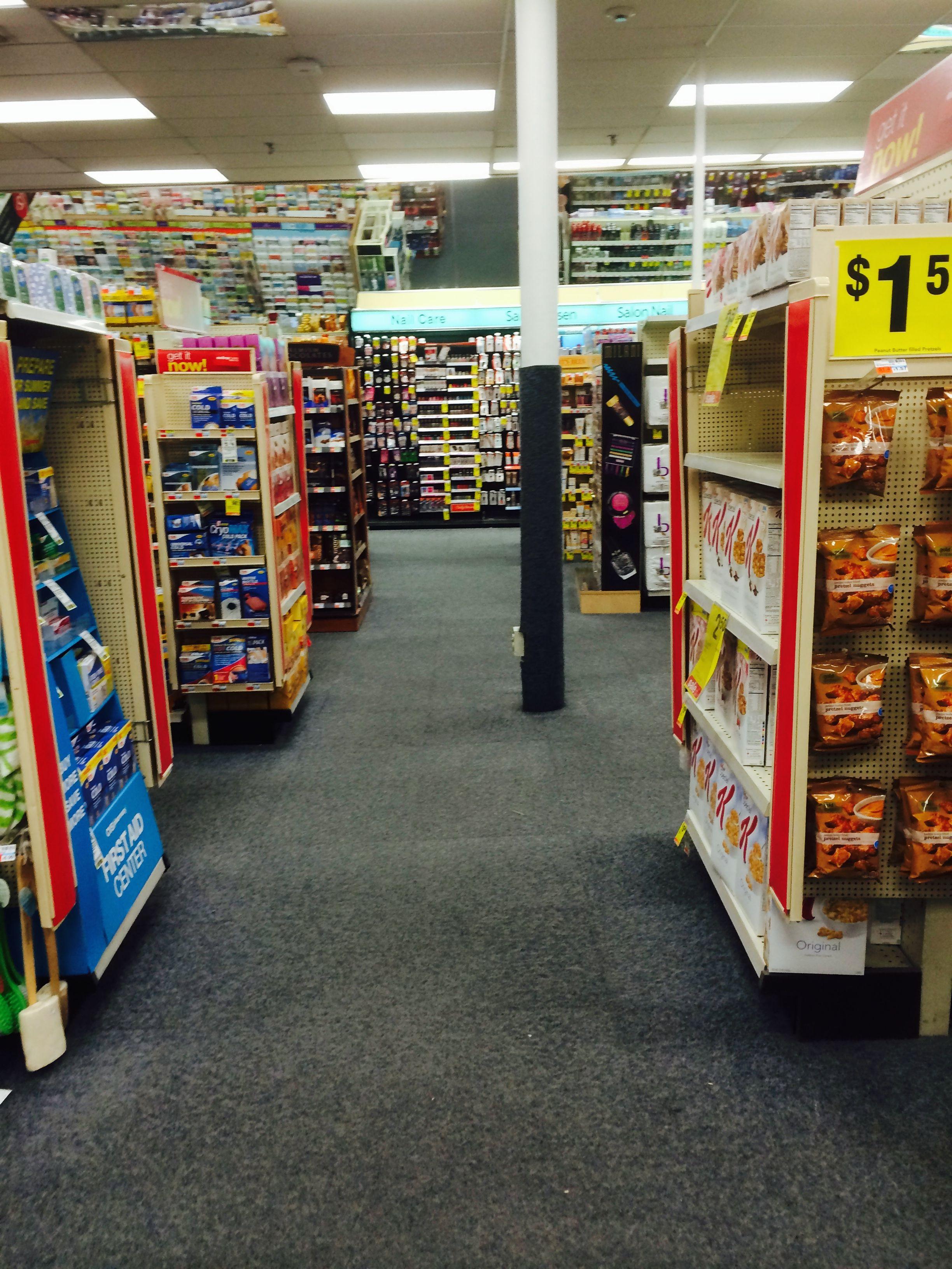cvs new haven us pharmacy drug store layout customer