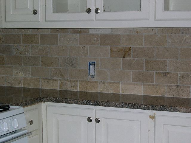 Travertine Backsplash Travertine Backsplash Kitchen Backsplash