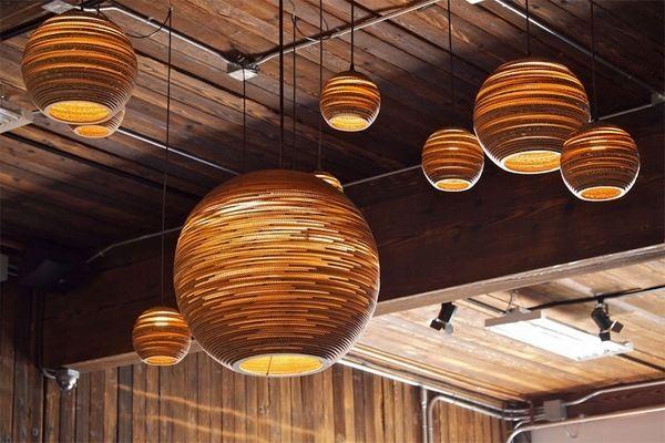 contemporary home lighting ideas cardboard lamp ideas pendant lamps designs
