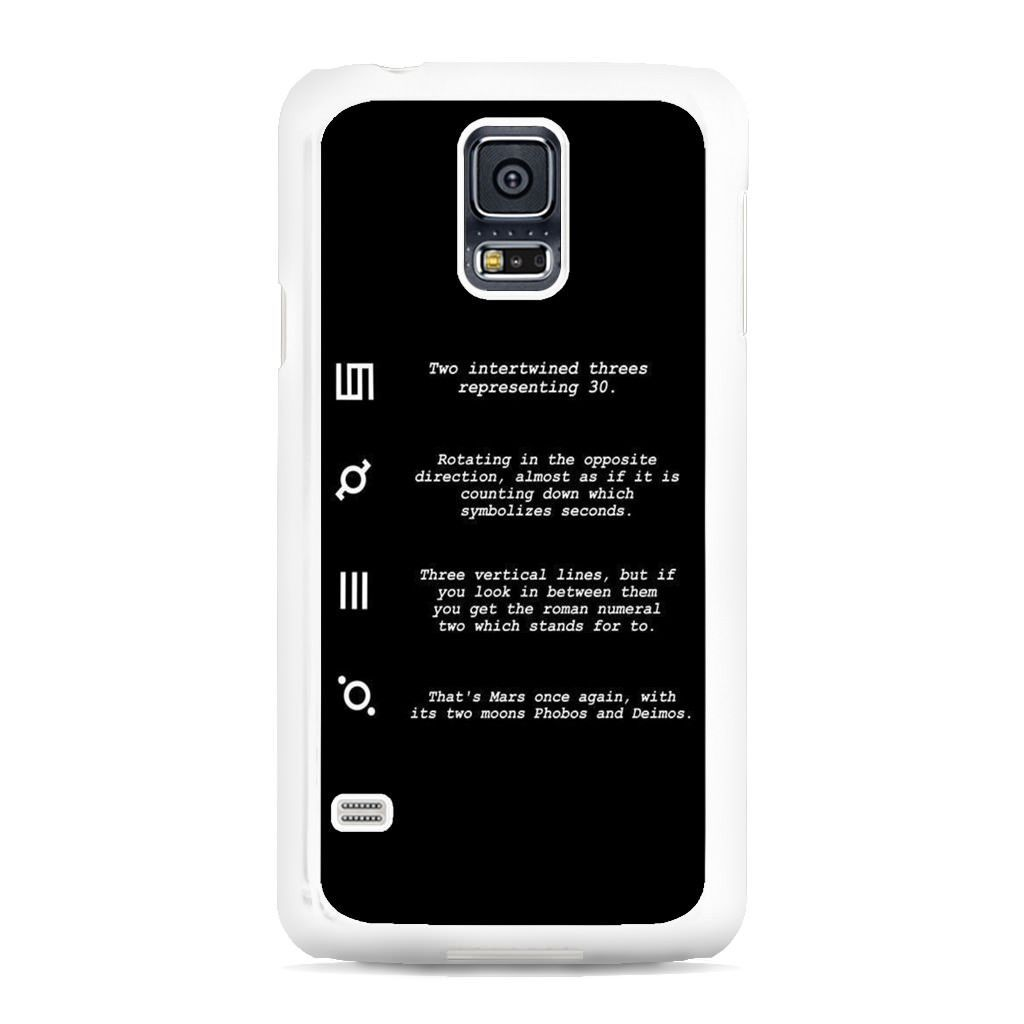 30 Second To Mars Symbol Definition Samsung Galaxy S5 Case