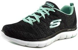 239eb3dd073b Skechers Flex Appeal 2.0 High Energy Women Round Toe Synthetic Black  Sneakers.