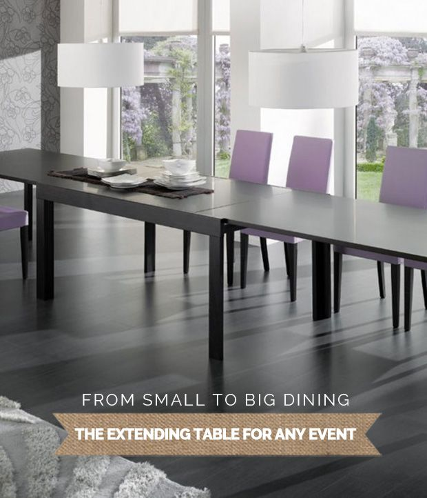 The Extending Table For Any Event Expand Furniture Extendable Kitchen Table Extendable Dining Table Dining Table