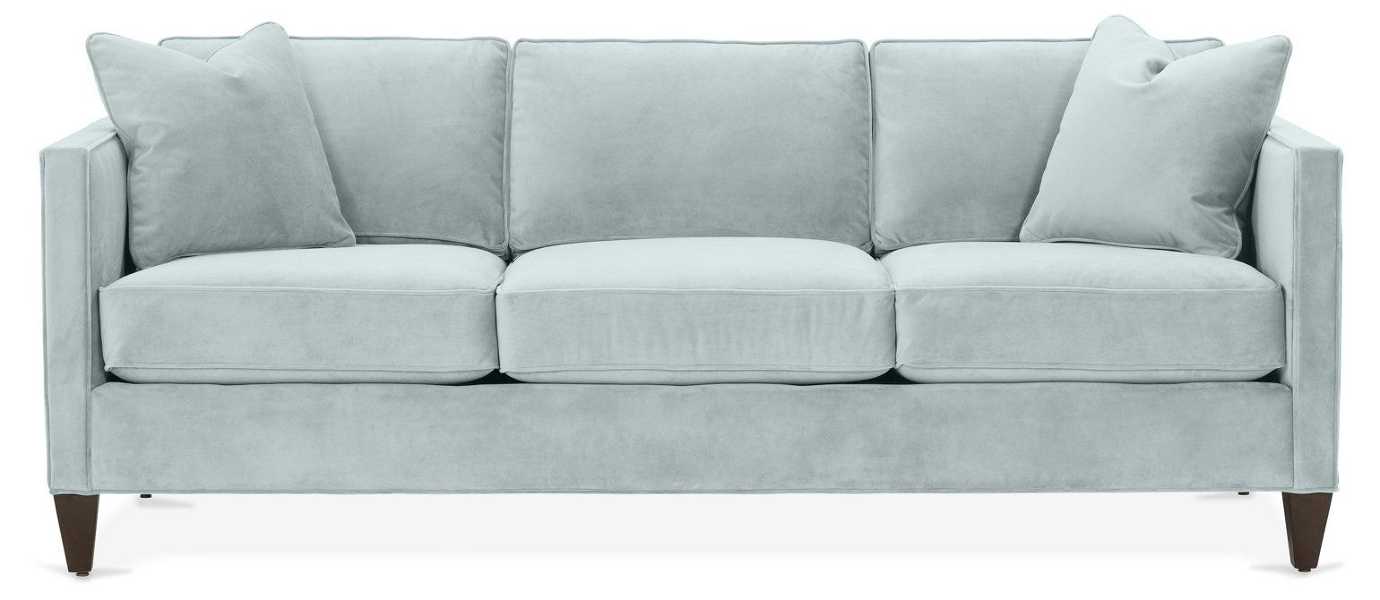 Cecilia Sofa Seafoam Crypton Sofas Sectionals Furniture