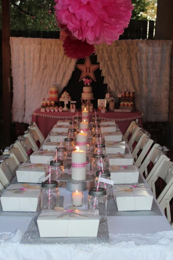 Under the stars tween teen outdoor birthday party planning for Outdoor decorating ideas for birthday party