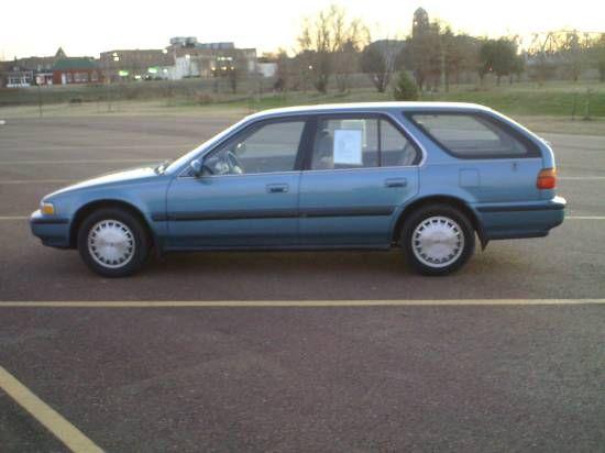 1991 Honda Accord Station Wagon All Time Favorite Cars Pinterest