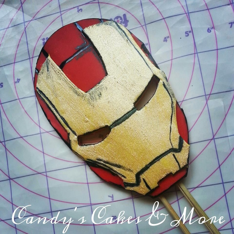 melting iron man mask - photo #15
