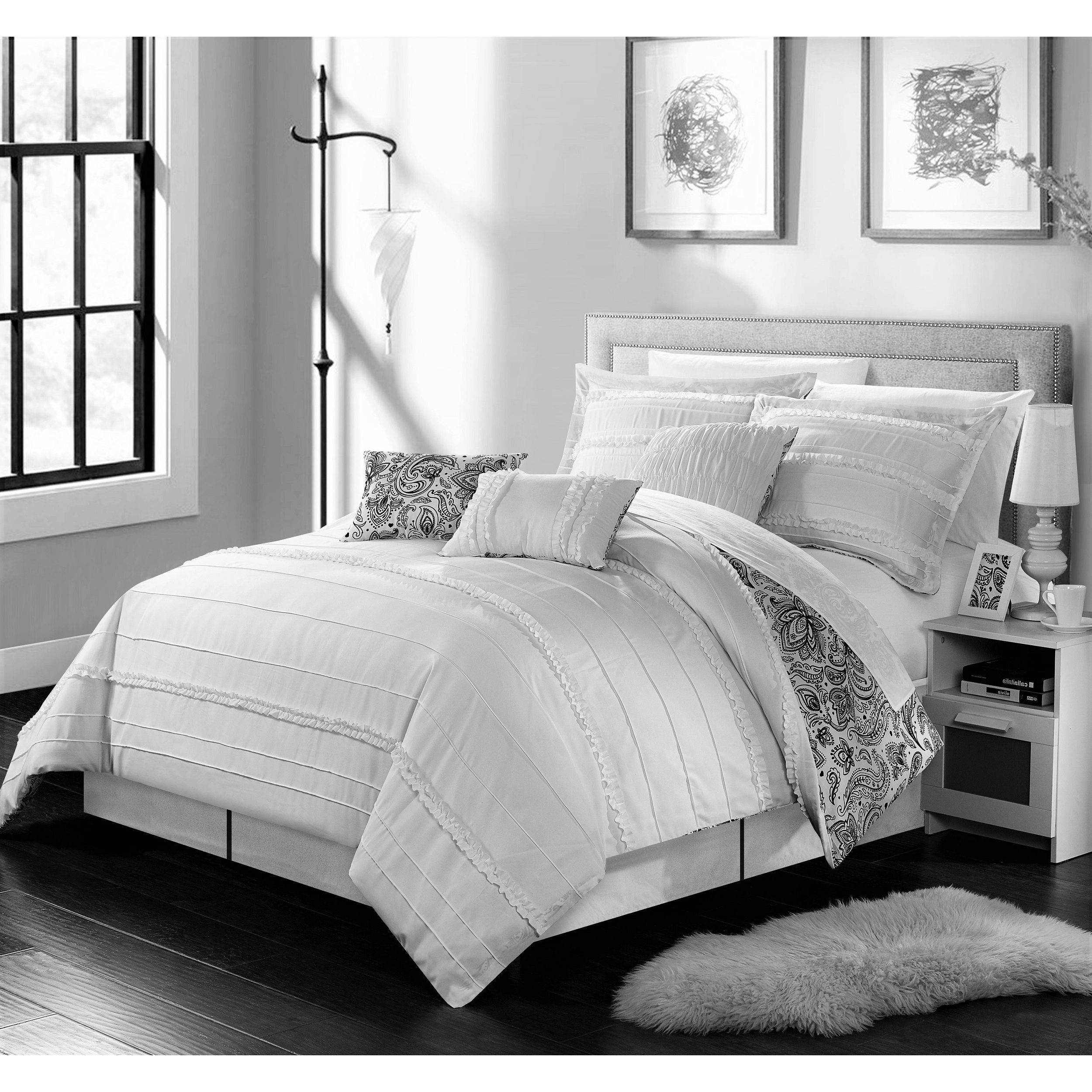 Chic Home 11 Piece Maeve Bed In A Bag forter Set