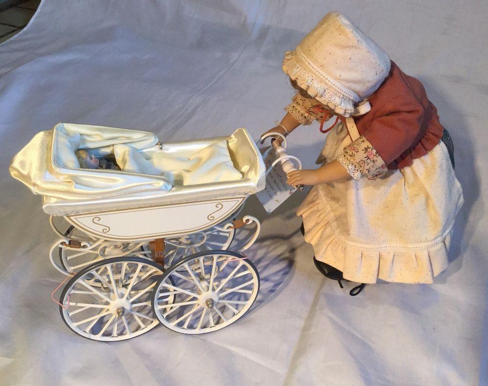 Heidi Ott Puppe mit Puppenwagen