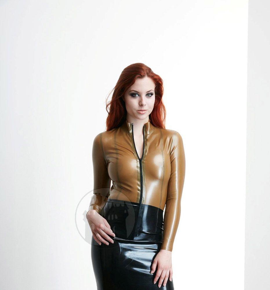 Photo of Latex blouse 'Actress' – Macinger