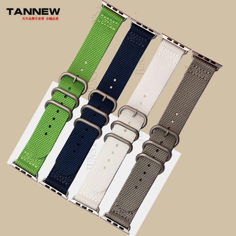 Apple sangle en nylon 38 mm 42 mm toile avec sportive bracelet avec Apple iwatch linker durable imperméable et la sueu