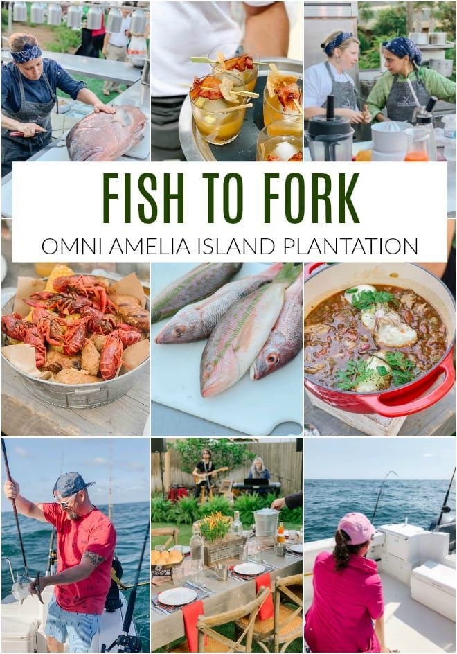 Fish to Fork at Omni Amelia Island Resort is a unique