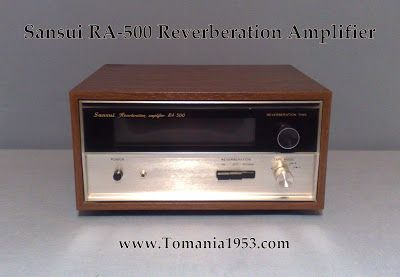 sansui ra 500 reverberation amplifier sansui hi fi stereo japan rh pinterest com Sansui 500 Car Sansui Rear Amp Channel