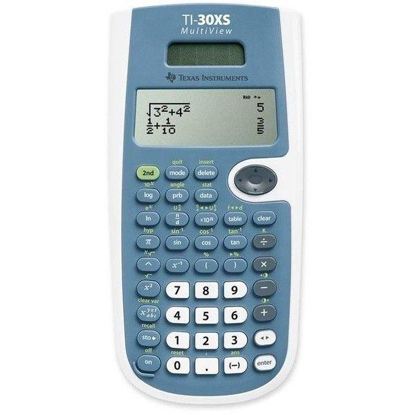 Texas Instruments TiXs Multiview Scientific Calculator