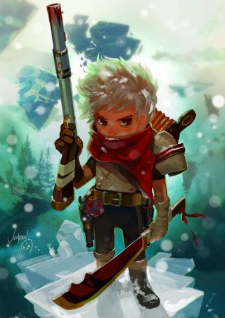 This is Who We Thank For Bastion's Gorgeous Art via PinCG.com