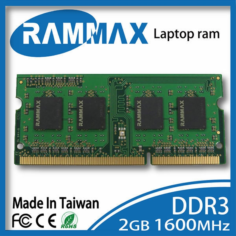 43.00$  Watch now - SO-DIMM1600Mhz PC3-12800 204-pin/CL11/1.5v Laptop Memory Ram1x2GB DDR3 high compatible with AMD/intel of Notebooks+Free Shipping  #magazine