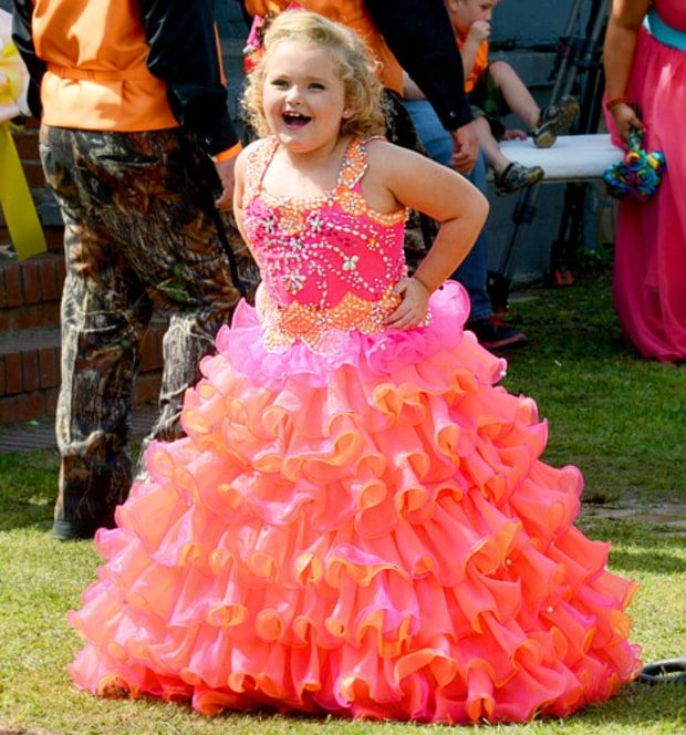 Honey Boo Boo\'s Mom Mama June Gets Married to Sugar Bear in ...