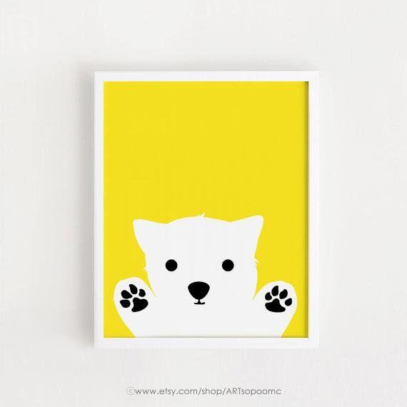 Printable Dog art Baby room decor kids print Child Poster Digital ...