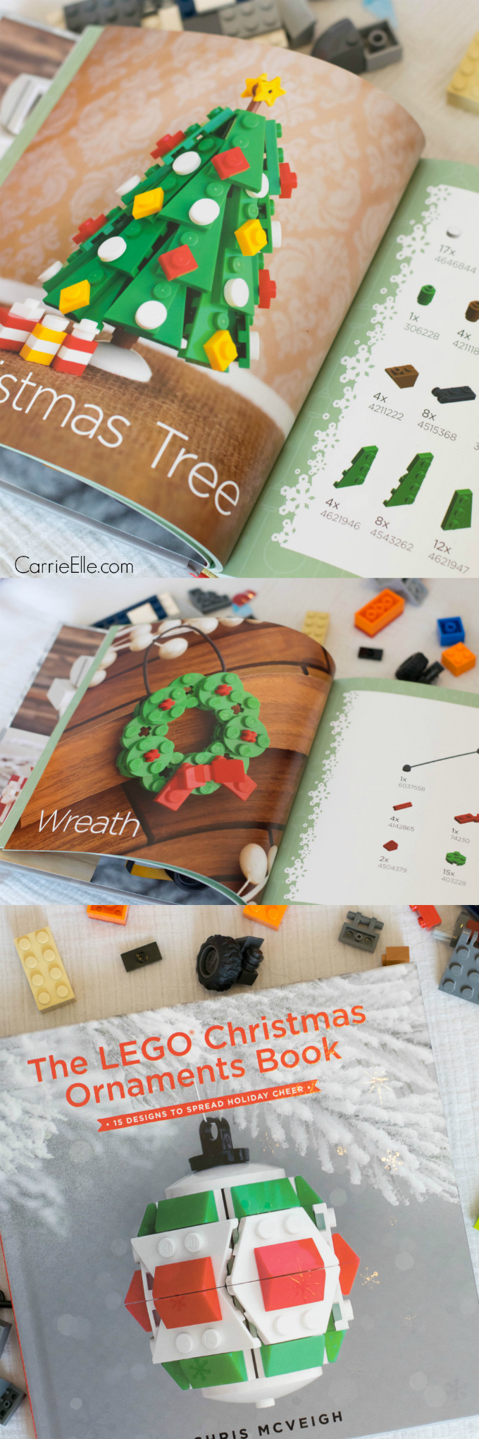 Lego lovers youull love the lego christmas ornaments book