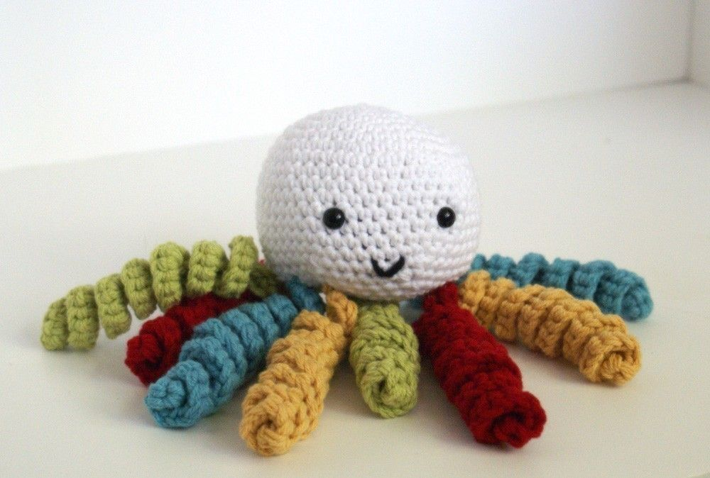 Knit Octopus Kids Craft