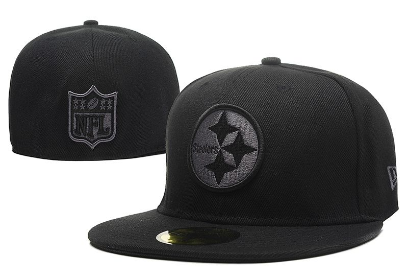 premium selection 6f79e 29c06 NFL Pittsburgh Steelers New Era Size Hats Fitted Caps