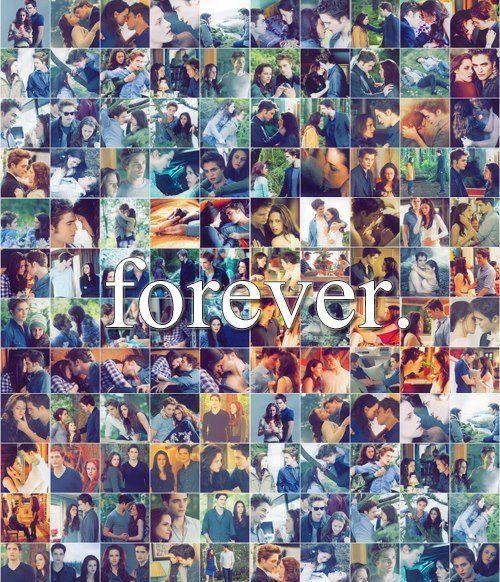 Edward & Bella FOREVER (Collage de la Saga Crepúsculo)