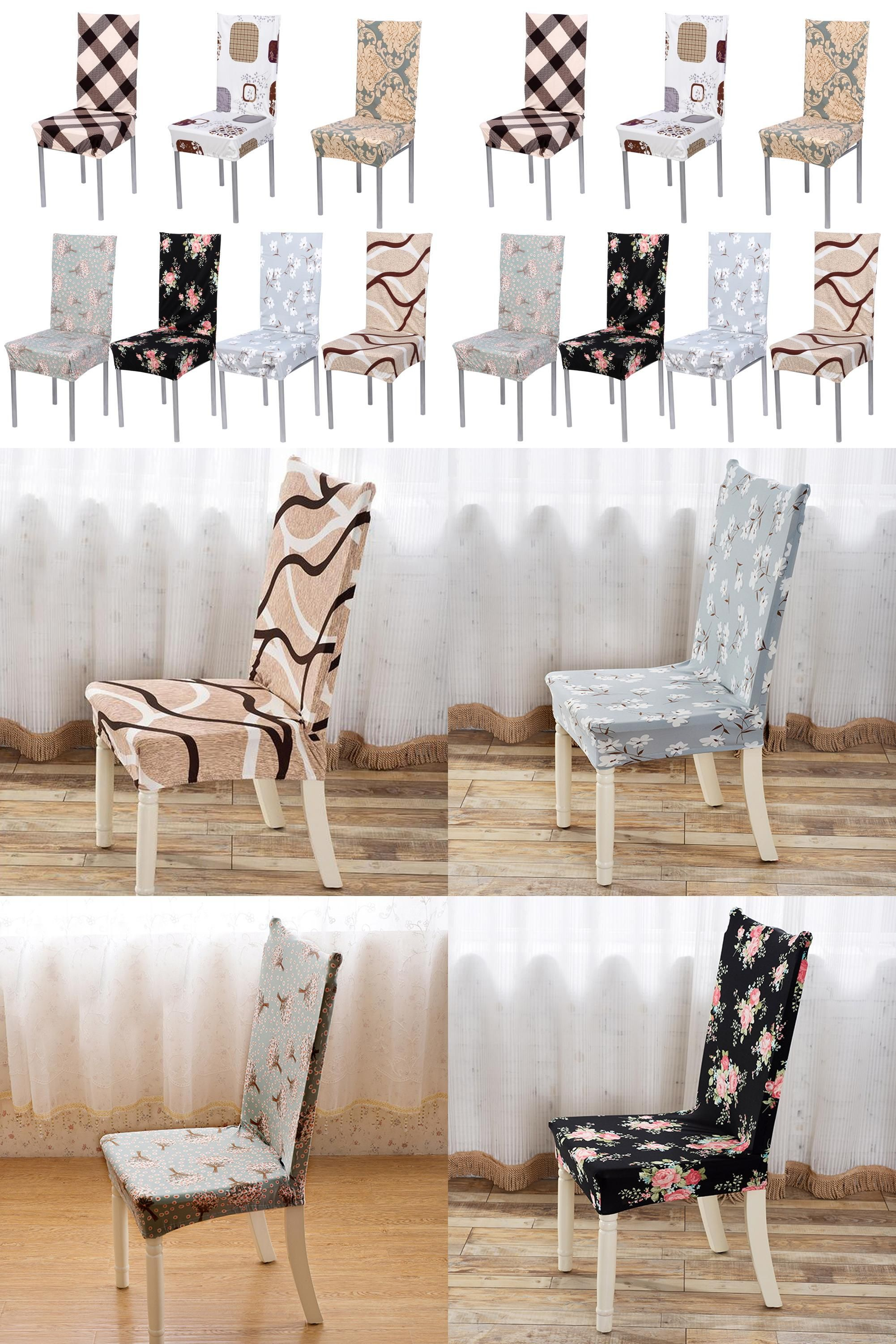 Visit to Buy Removable Chair Cover Stretch Elastic Slipcovers