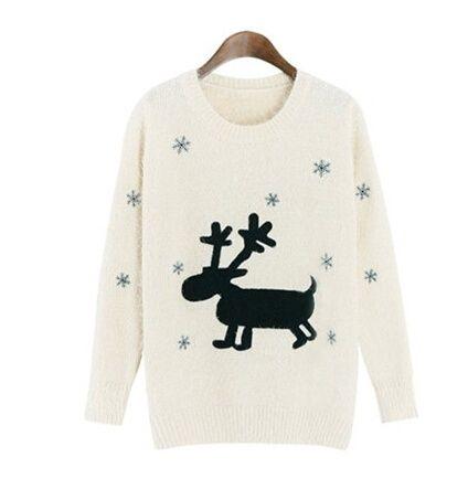 Snowflake Elk sweatshirt for girls Taylor Swift sweater