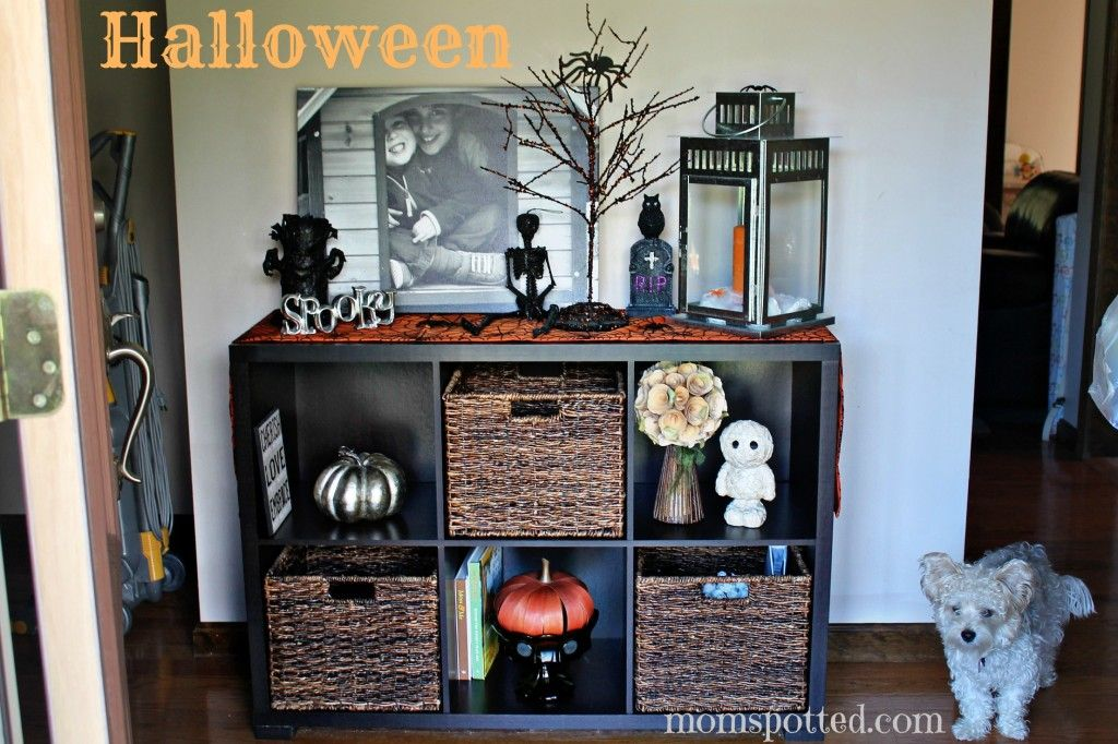 Autumn  Halloween Home Decor Ideas {My Tips  Tricks Decorating