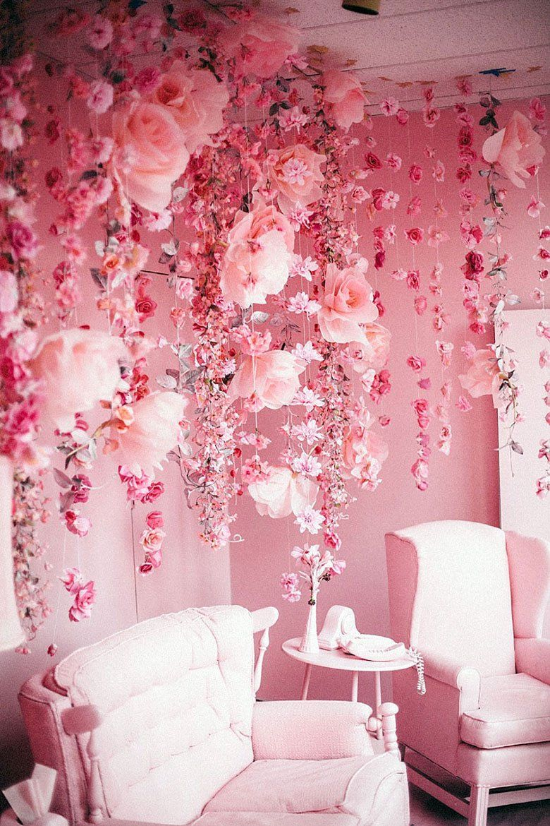 The New Neutral Pink Room Pink Walls Decor