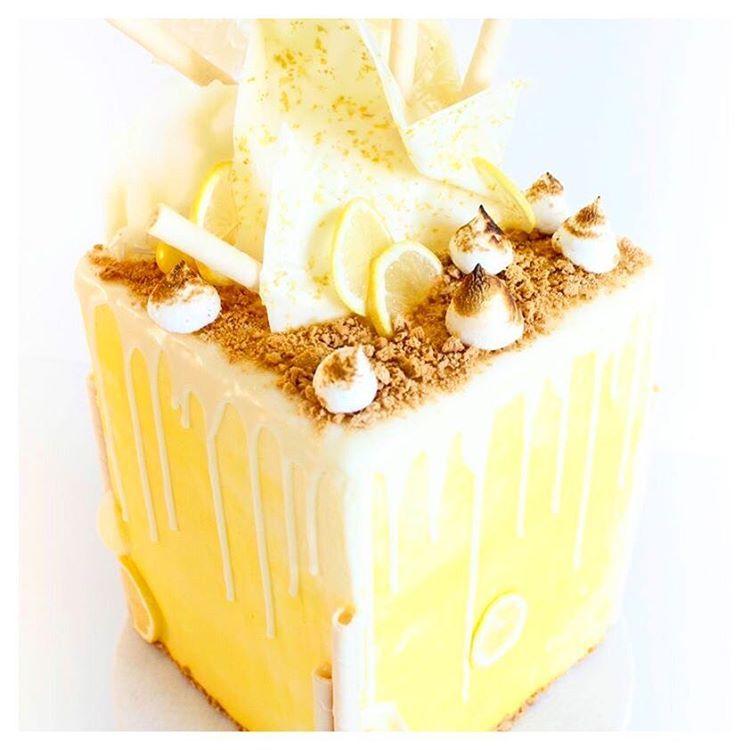 Lemon Meringue Pie Cake From Brogen Contestant On Zumbo S Just Desserts On Channel 7