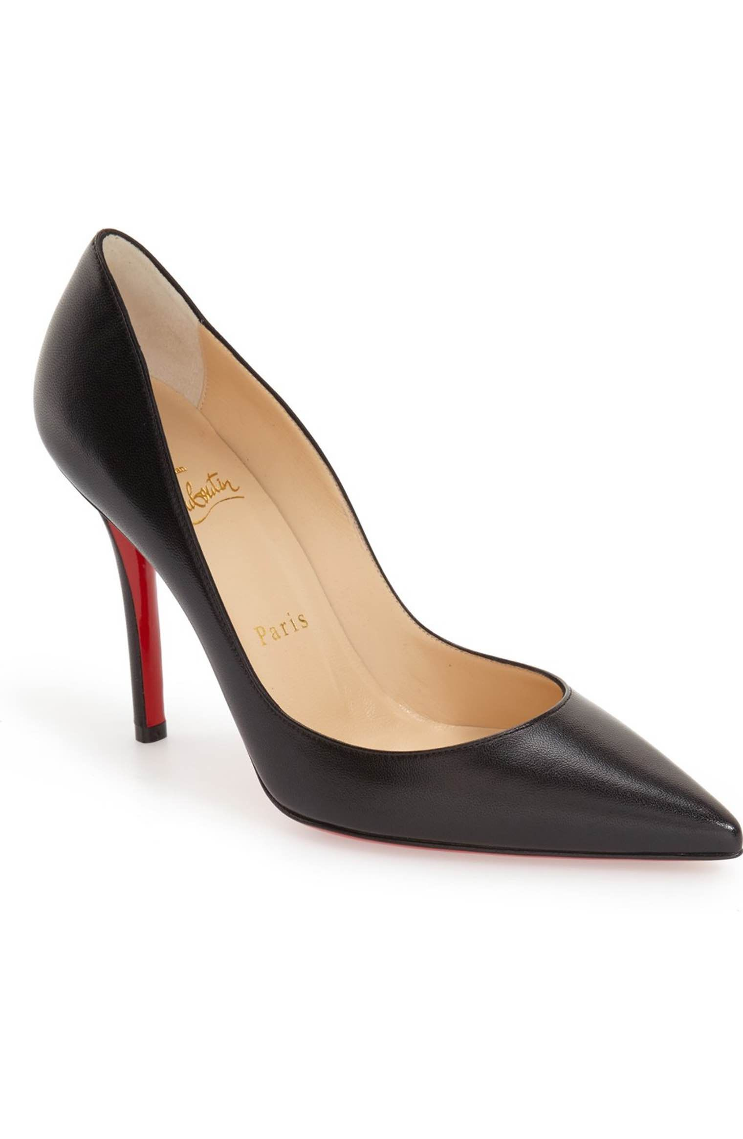 7d684cf51dfc Main Image - Christian Louboutin  Apostrophy  Pointy Toe Pump ...