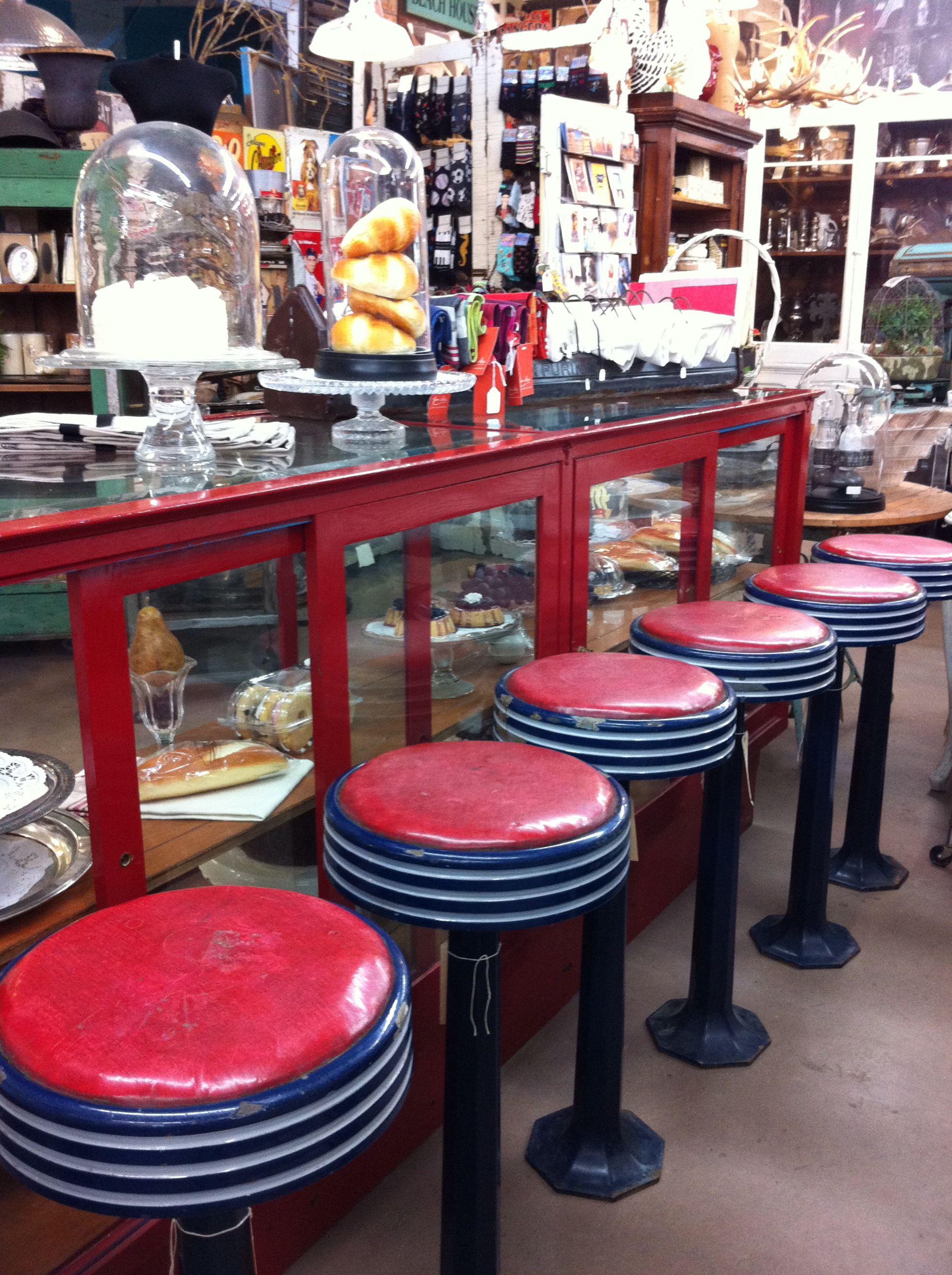 Vintage Diner Stools